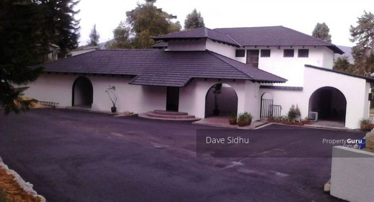 Cameron Highlands Bungalow for sale by Dave Sidhu in Bangsar