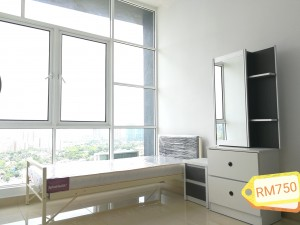 Medium room to rent out for RM 750 include utilities and fully furnished