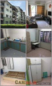 Fully furnished Middle room (Rm550) and Small Room (Rm400) to rent