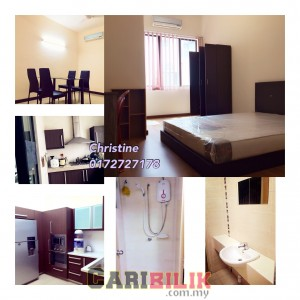 BUKIT JALIL FURNISHED AIRCOND MEDIUM ROOM FOR RENT