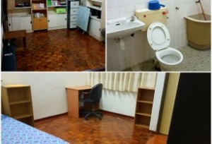 Fully-furnished Middle Room (RM550)