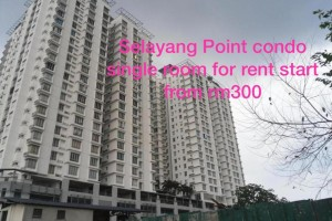 Selayang Point Condo Single Room For Rent in Selayang