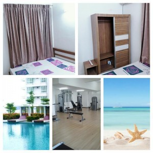 Fully Furnish Summer Place Condo Small Room For Rent