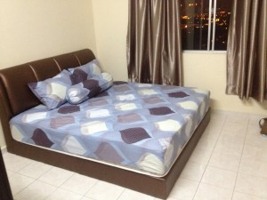 Low Deposit PV5 Medium Room for Rent (Fully Furnished)- King Size Bed