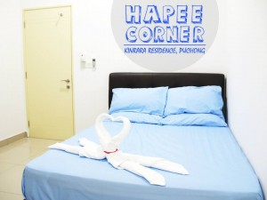 Fully-furnished Rooms for Rent in Kinrara Residence