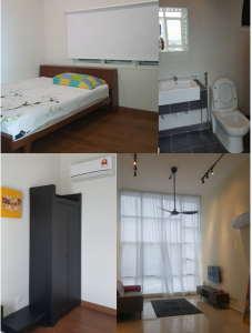small room ( fully furnished ) to let