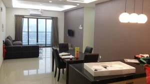 1388 Sf Fully Furnished Corner Condo With 3+1 Rooms For Rent