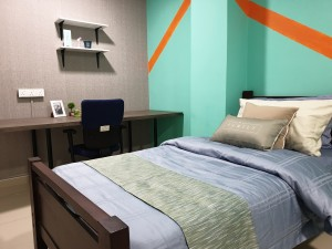 Fully Furnished Rooms at Ridzuan Condo