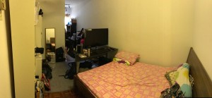 Fully Furnished Medium room with attached bathroom and Aircon to rent