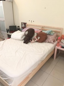 Medium Room for Rent, Fully Furnished, Free Car Park (RM820)