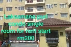 Laksamana Puri Condo room for rent in Batu Caves