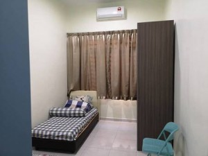 Available New Room at Bukit Jalil with Wifi & A/C