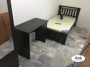 USJ Single Room For Rent At Subang With Full Facilitise & Wi-fi