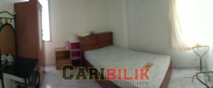 Furnished room (aircon) for rent in Batu Lancang Penang