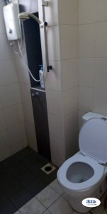 Single Room at Setia Alam, Shah Alam With Free WIFI & Cleaning Services