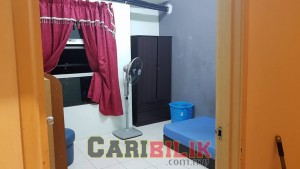 Fully furnished room for rent at Puchong