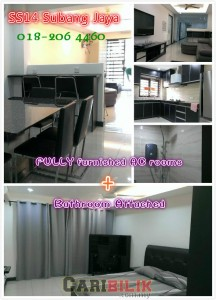 Ss14 Subang Jaya - All New Limited F/Furnished Rooms Airbnb Standard!