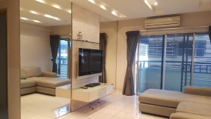RENOVATED & FULLY FURNISHED CORNER LOT PERDANA EMERALD CONDO TO RENT