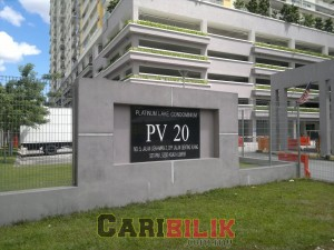PV20 For rent RM1800 Semi Furnish