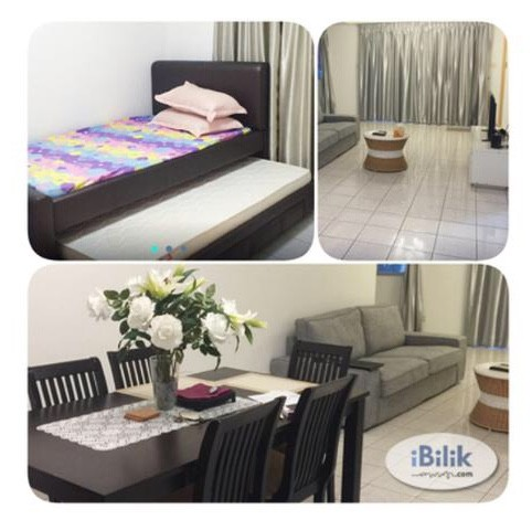 Medium Room Full Furnished For Rent (Mont Kiara)