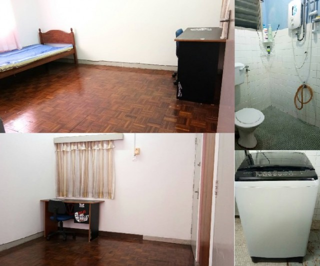 Spacious Room with Attached Bathroom - Jalan 17/43