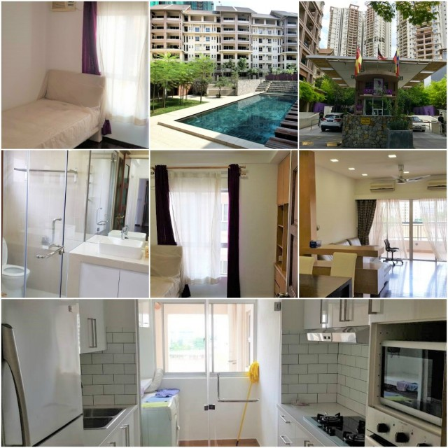 FULLY furnished & renovated. BEST room for RENT at SERI MAYA, near KLCC!