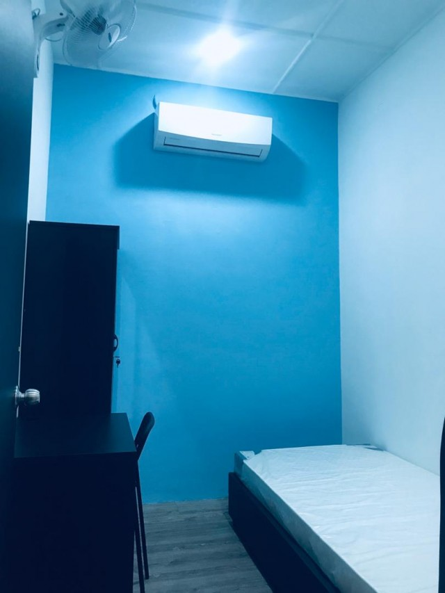 Weekly Cleaning Room To let Taman Fadason Include Utilities, Wifi & Security Service