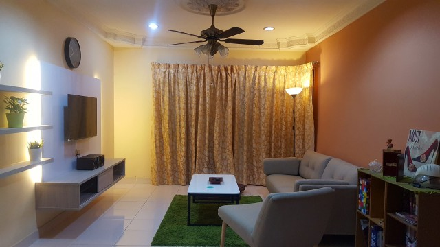 Melur Apartment, Sentul  Near LRT Sentul Timur  Single Room