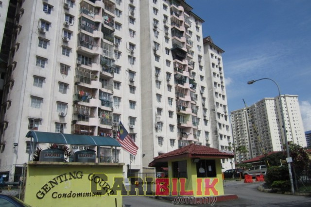 Genting Court For rent RM1200
