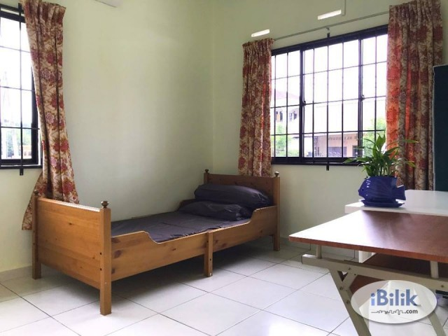 Complete Facilities Room At SS2, PJ With Fully Furnished & Include Utilities!!!