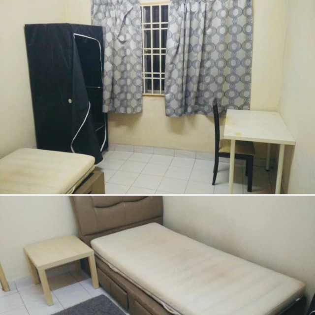 Middle room at Puncak Seri Kelana Condo Available Now  Utilities Included